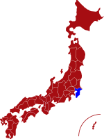 map of chiba prefecture