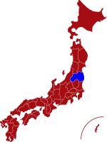 map of fukushima prefecture