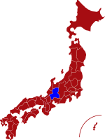 map of gifu prefecture
