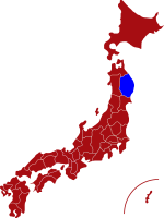 map of iwate prefecture