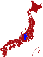 map of nagano prefecture