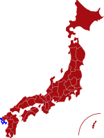 map of nagasaki prefecture