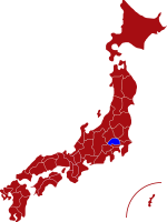 map of saitama prefecture