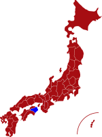 map of tokushima prefecture