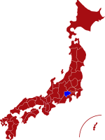map of yamanashi prefecture